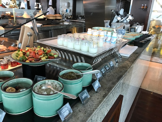Hyatt Capital Gate 18 Degrees Diamond Breakfast Yogurt