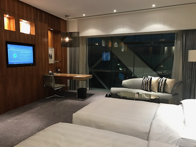 Gorgeous Standard Room at the Hyatt Capital Gate Abu Dhabi