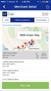 United MileagePlus X App Location