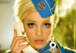 Britney Spears Toxic Flight Attendant