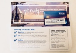 Amex Hilton Ascend Card Arrived January 15