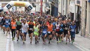 20 kilomètres de Montpellier départ