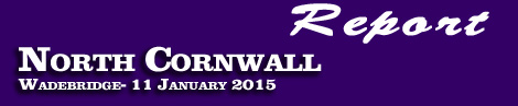 REPORT ON THE NORTH CORNWALL  POINT-TO-POINT AT THE ROYAL CORNWALL SHOWGROUND, WADEBRIDGE, SUNDAY 11TH JANUARY 2015