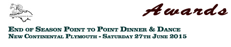 Devon & Cornwall End of Season Point to Point Dinner & Dance – rooms still available