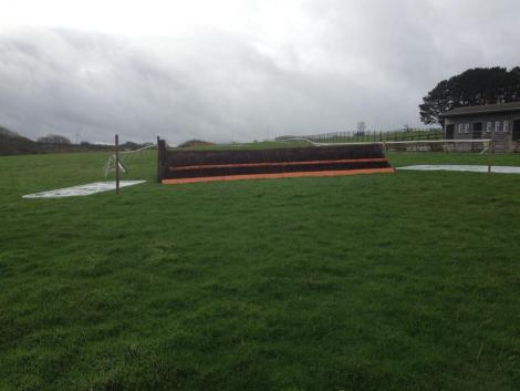 Well that's one fence finished at Wadebridge, only another 7 to go ! ??...... Nah only joking ! All looking lovely. And the ground is ....... Absolutely spiffing!! ( soft & good to soft )