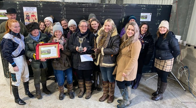 REPORT: THE CORNWALL CLUB POINT TO POINT AT WADEBRIDGE – 8TH DECEMBER 2019