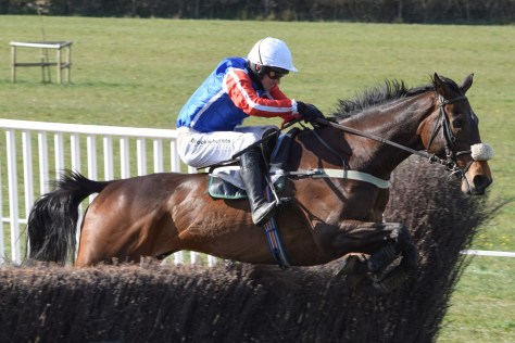 Race winner Kinondo Kwetu, ridden by Will Biddick