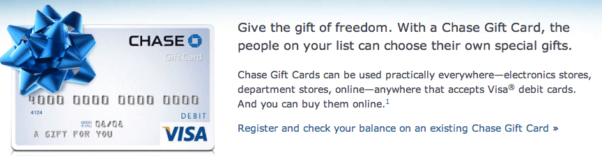 Chase Gift Card Balance - justsingit.com