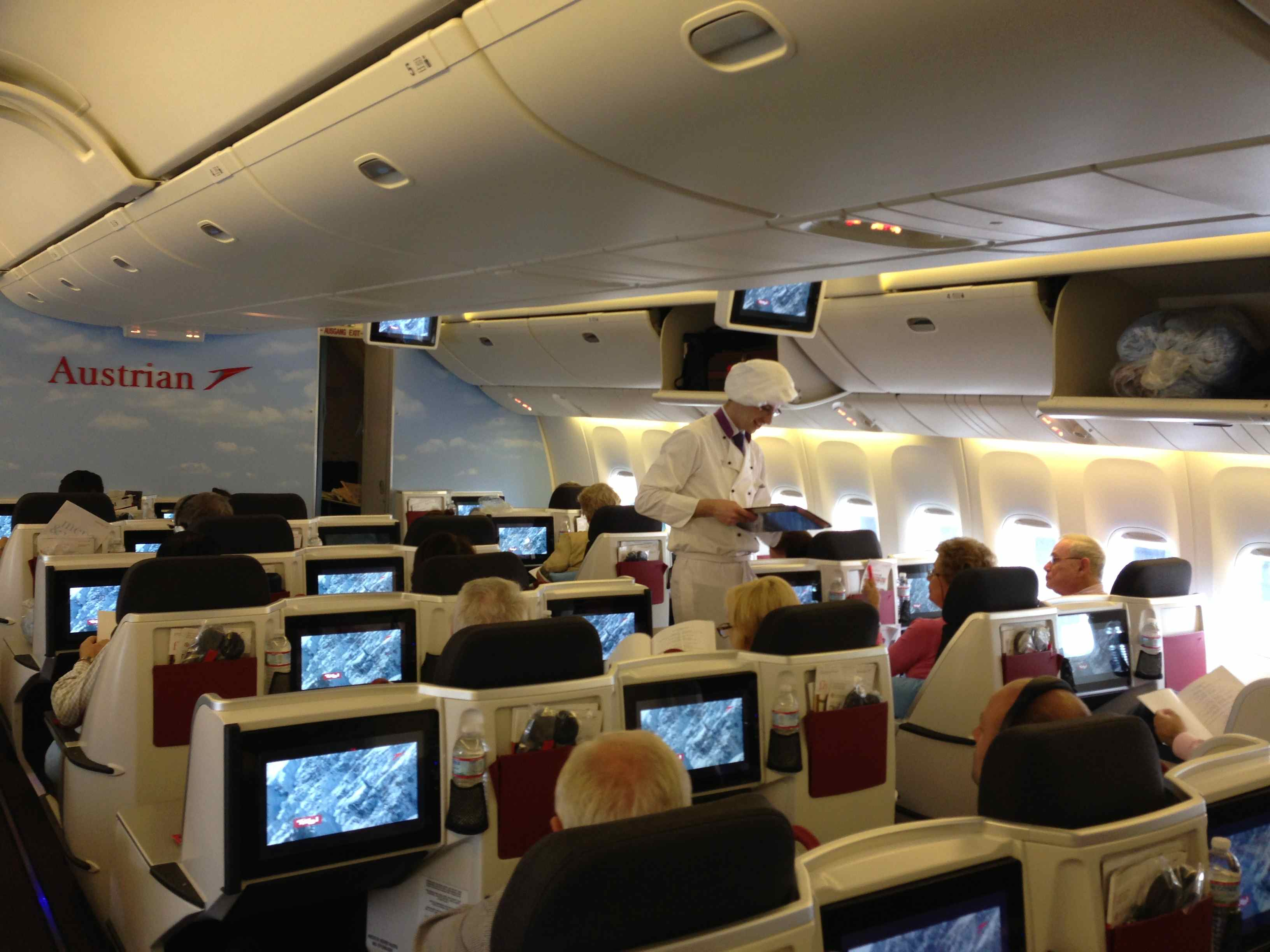 Flight review: Austrian Airlines B777-200 Business class