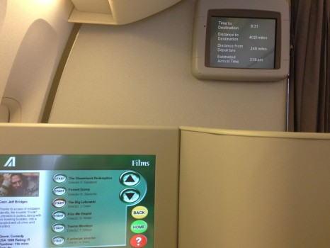 Alitalia B777-200ER Magnifica Business Class27
