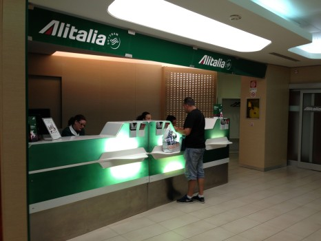 Alitalia Lounge Rome Giotto Lounge12