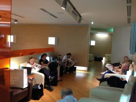 Alitalia Lounge Rome Giotto Lounge19