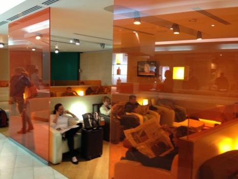 Alitalia Lounge Rome Giotto Lounge20