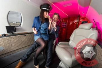In-flight bad behavior
