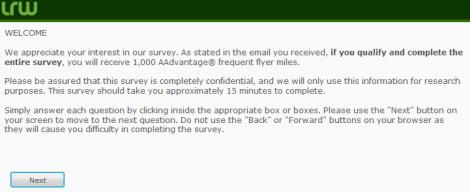 AA Survey