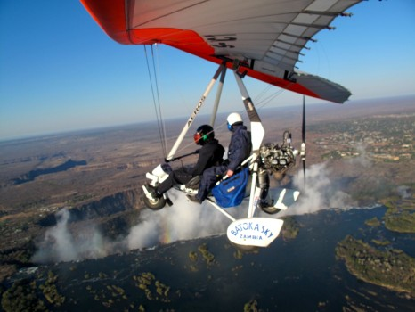 Microflight Microlight Batoka Sky Zambia Victoria Falls50