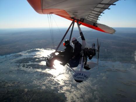 Microflight Microlight Batoka Sky Zambia Victoria Falls69