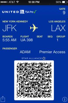 UA BP JFK-LAX