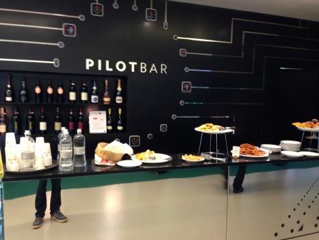 Alitalia T1 Lounge FCO Rome10