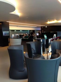 Alitalia T1 Lounge FCO Rome24