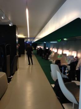 Alitalia T1 Lounge FCO Rome30