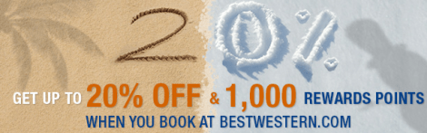 Best Western Q1 2014 Online Booking Promo