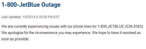 JB outage