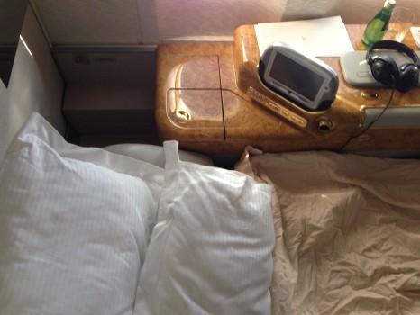 Emirates First Class DXB - Malé (MLE) B777-200LR34