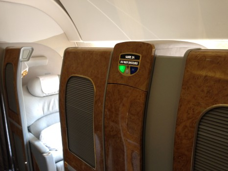 Emirates First Class DXB - Malé (MLE) B777-200LR49