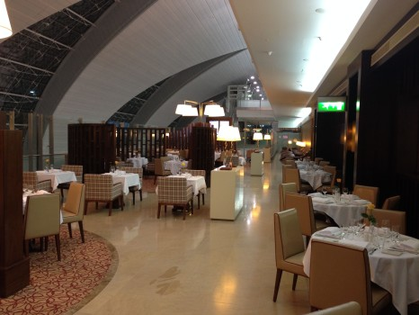 Emirates First Class Lounge Concourse A A380 Dubai038