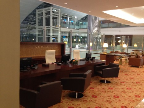 Emirates First Class Lounge Concourse A A380 Dubai077