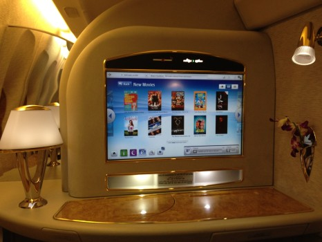 Emirates First Class Malé (MLE) - DXB B777-200LR05