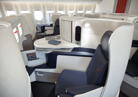 New Air France Business Class Seat 3