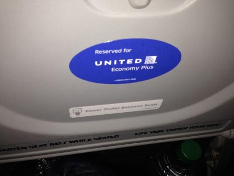 United JFK-SFO Economy Plus03
