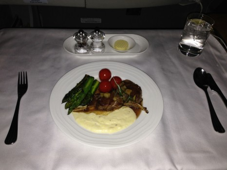 Emirates First Class 777 MXP-JFK85