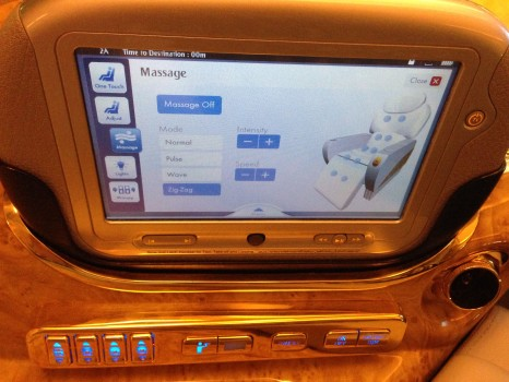 Emirates First Class DXB-MXP Dubai Milan 77719