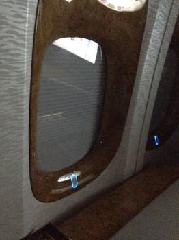 Emirates First Class DXB-MXP Dubai Milan 77742