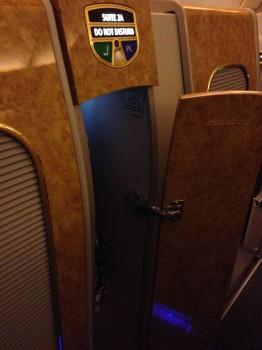 Emirates First Class DXB-MXP Dubai Milan 77760