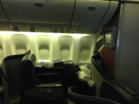AA 777-300ER First Class Tokyo NRT DFW JFK16