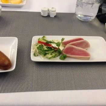 AA 777-300ER First Class Tokyo NRT DFW JFK46
