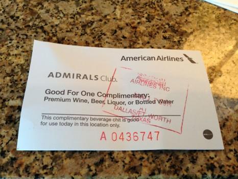 American Airlines AA Admirals Club DFW Dallas38
