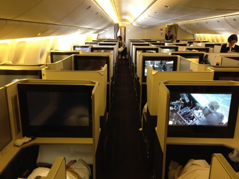 JAL SKY SUITE Business Class Trip Report Review042