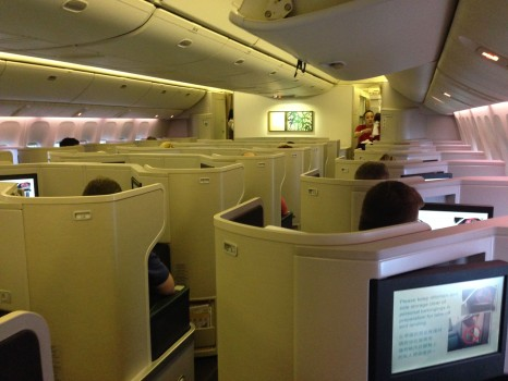 Cathay Pacific Business Class Trip Report07