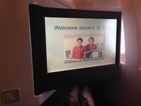 Cathay Pacific Business Class Trip Report15