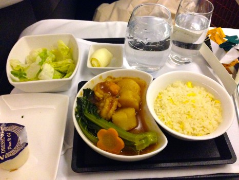 Cathay Pacific Business Class Trip Report57
