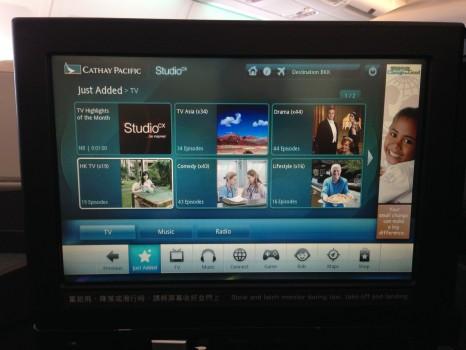 Cathay Pacific Trip Report Hong Kong (HKG) to Bangkok (BKK) A34017