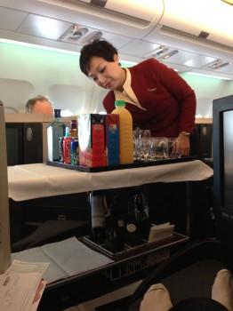Cathay Pacific Trip Report Hong Kong (HKG) to Bangkok (BKK) A34023