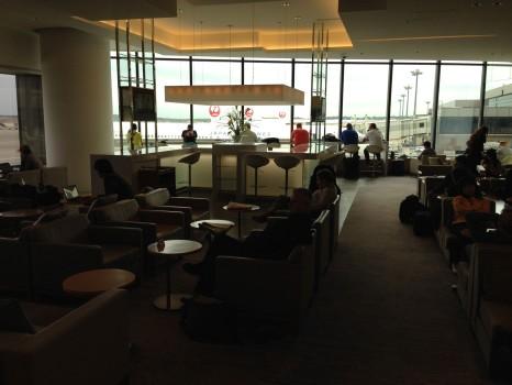 JAL Sakura Lounge Tokyo NRT31