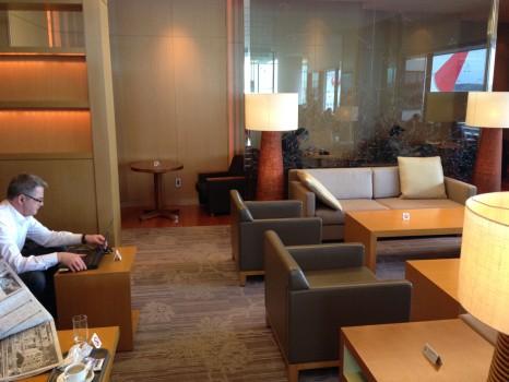 JAL Sakura Lounge Tokyo NRT33