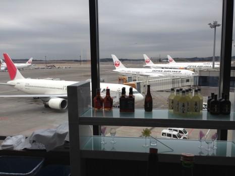 JAL Sakura Lounge Tokyo NRT80